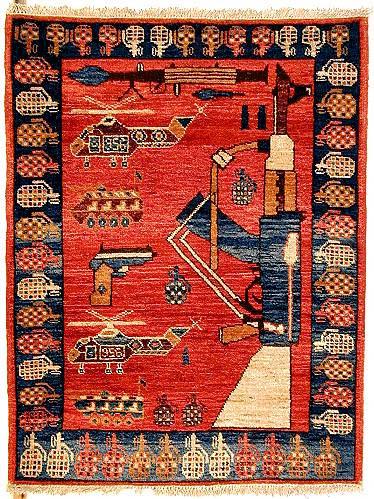 Afghan War Carpets  Soviet Era  Neatorama