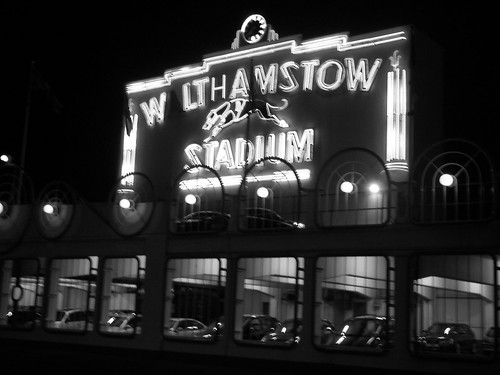 Walthamstow dog track, by flickr person Cheeky_Monkey2007