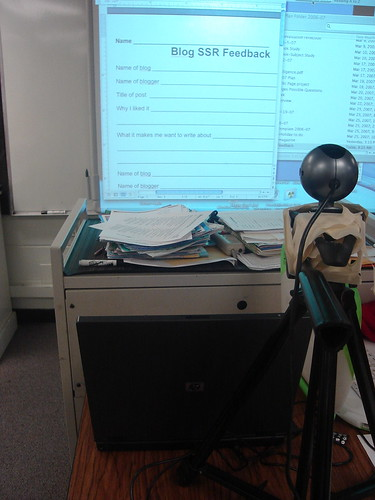 Technology Set-up in Brian's Class