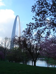 The Arch and trees