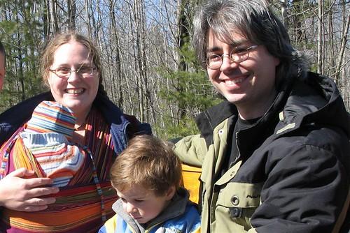 Khéna, Colin and Simon and I
