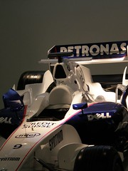 31.BMW F1.07的駕駛艙