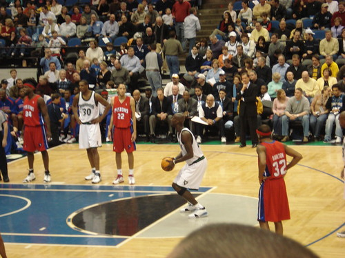 KG at the charity stripe