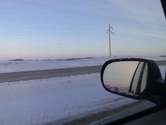 Driving down Highway 52