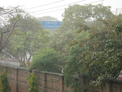 Downpour in Delhi