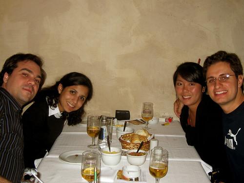 JC, Denise, Nê, André