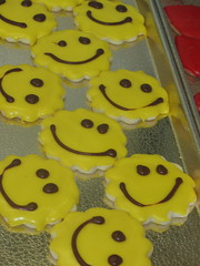 happy face cookies!