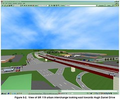 3D Proposed 280 Intersection at 119
