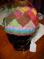 Entrelac Noro Silk Garden Hat