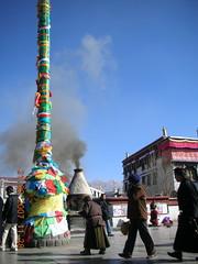 Incense & Prayer flags