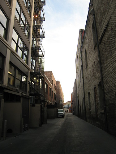 Old Town alley, 1