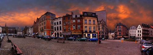 Belgium Brussels, Place du Grand Sablon