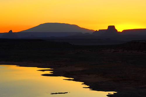 Navajo Sunrise by James Neeley