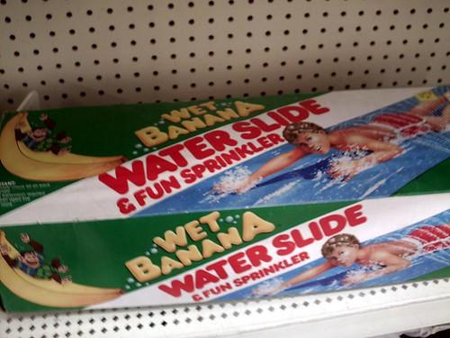Wet Banana Water Slide