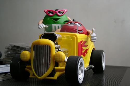 m&m's roadster