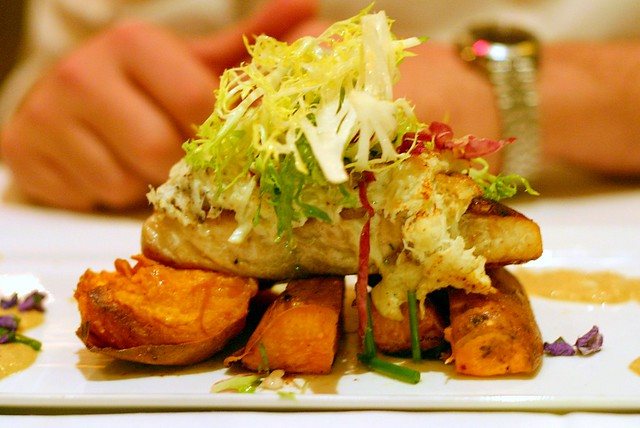 crab-crusted red snapper