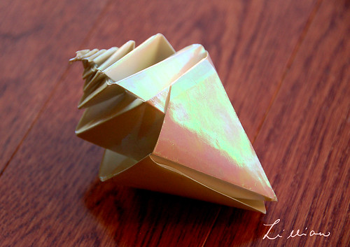origami shell