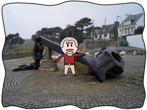 Ancre de l'Amoco Cadiz - Portsall