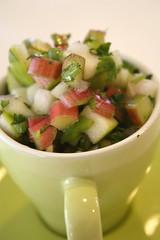 Rhubarb-Apple Salsa