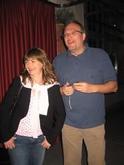 Martina und Roger im Papiersaal Sihlcity