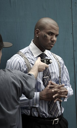 The Real Black Wall Street photo shoot, The Game by milkanen.