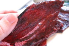 sliced beef jerky