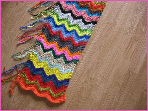 zig zag scarf