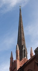 Steeple, Trinity Episcopal church, Abbeville, ...