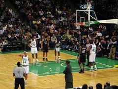Celtics Game at the Boston Garden by Financial Aid Podcast