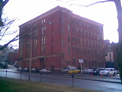 My walk to downtown #6: The Wayland Building at North Main and Park Row