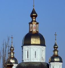Pokrovsky Cathedral spires