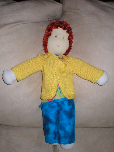 standing doll
