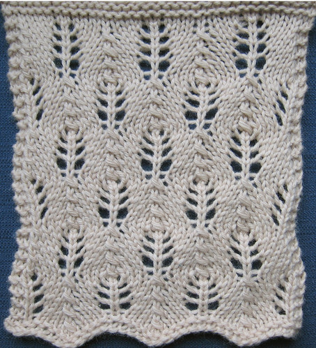 Treasury Of Knitting Patterns : 10. Lace The Walker Treasury Project Page 7