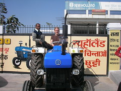 Endorsing New Holland
