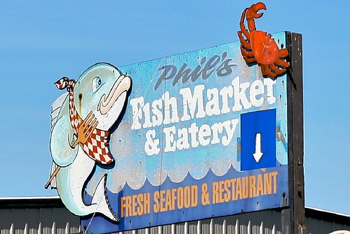 Phil's Fish Market in Moss Landing, CA