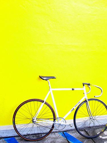 Rossin track bike
