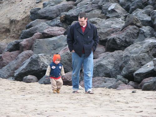 Paul & Jacob - Neskowin Beach