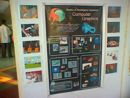 CS 176 (Computer Graphics) Class Exhibit