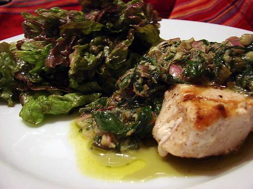 swordfish with salsa verde