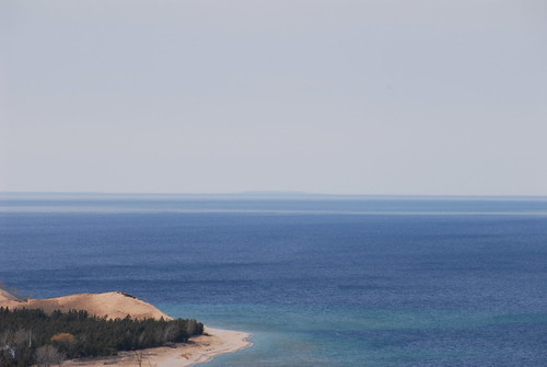 Lake Michigan From Alligator Hill