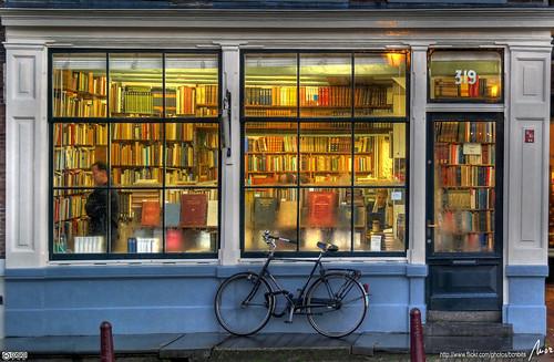 llibreria - bookstore - Amsterdam - HDR by MorBCN.