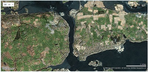 Microsoft map of our locale
