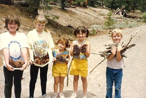 Camping in Deadman's Creek circa 1986
