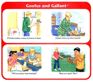 April 19th--I KNEW I hadn't made up Goofus and...