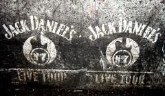 Jack Daniel's Live Tour stencil promo (2)