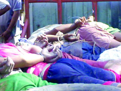 AP foto on Abu Sayyaf beheading of seven hostages