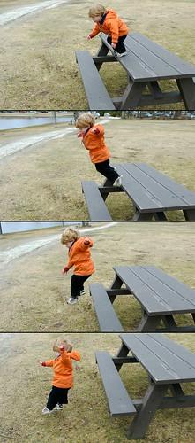 'I jump...'