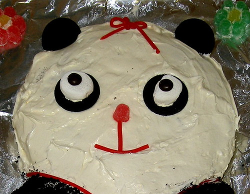 Panda Cake I Made for Andrea