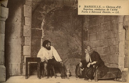 Marseille Chateau d'If. Supreme revelation de l'Abbe Faria a Edmond Dantes -  Post Card 298