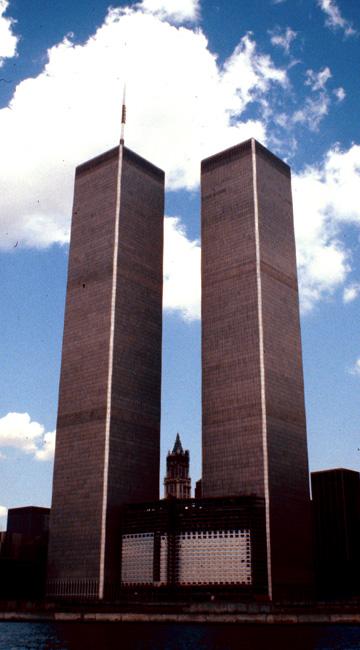 World Trade Centre, New York, July 1980